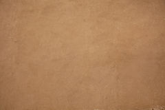 Adobe plaster. Natural adobe plaster made with straw and mud Royalty Free Stock Image