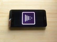 Adobe-Premiere-Clip App stockfoto