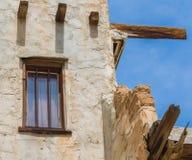Adobe pueblo in California. Hopi Indians adobe pueblo near Palm Springs, California Royalty Free Stock Photo