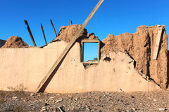 Adobe Ruin on Route 66 Royalty Free Stock Images