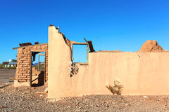 Adobe Ruin on Route 66 Stock Photography