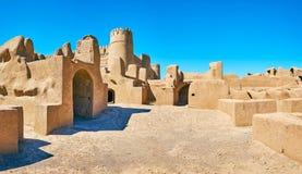Adobe-Ruinen von Rayen, der Iran Lizenzfreie Stockbilder