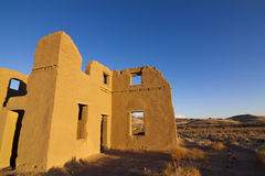 Adobe Ruins at Fort Churchill Royalty Free Stock Image