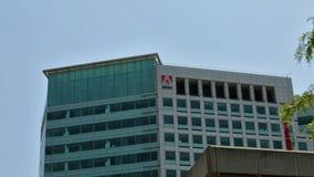 Adobe San Jose stock video footage