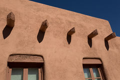 Adobe in Santa Fe, New Mexiko Stockfotografie
