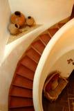 Adobe Spiral Stairway Stock Image