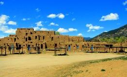 Adobe-taos Pueblos Stockfotografie
