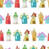 8 adobe tworzył cs eps formata domów ilustratora wzór Obraz Royalty Free