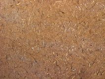 Adobe wall made of clay and straw.  stock photography