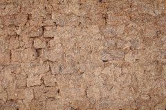 Adobe wall, rural styled background Royalty Free Stock Photos