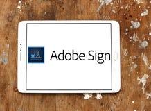 Adobe-Zeichenlogo Lizenzfreies Stockfoto