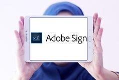 Adobe-Zeichenlogo Lizenzfreies Stockbild
