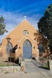 Adobe-Ziegelstein-Kirche Stockbilder