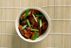 Adobo da carne de porco Foto de Stock