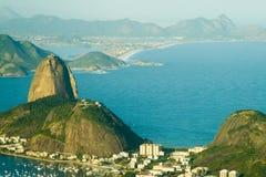 Cidade de Rio de janeiro Imagens de Stock Royalty Free