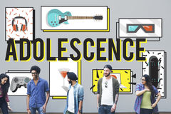 Adolescence Young Adult Youth Culture Lifestyle Concept Stock Photography
