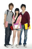Adolescencias asiáticas Imágenes de archivo libres de regalías