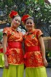 Adolescencias chinas jovenes Fotos de archivo