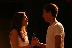 Adolescencias del canto en etapa fotografía de archivo
