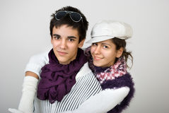 Adolescencias en amor Imagen de archivo