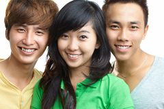 Adolescencias felices Foto de archivo libre de regalías