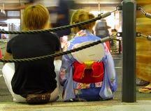Adolescencias japonesas Imagen de archivo