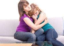 Adolescencias y problemas del amor Fotografía de archivo libre de regalías