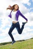 Adolescent énergique photographie stock libre de droits