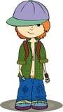 Adolescent illustration de vecteur