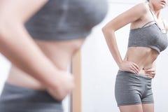 Adolescent avec le trouble de la nutrition Images stock