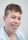 Adolescent avec quinze années Photographie stock libre de droits
