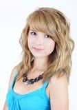 Adolescent blond assez jeune Photographie stock