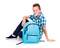 Adolescent Boy Royalty Free Stock Images