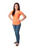Adolescent confiant heureux Photo stock