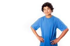 Adolescent d'appartenance ethnique mélangée Image libre de droits