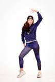 Adolescent dans l'équipement d'houblon de hanche Photo stock
