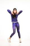 Adolescent dans l'équipement d'houblon de hanche Photographie stock libre de droits