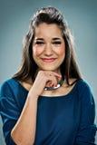 Sourire d'adolescent de beauté Image stock