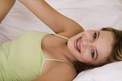 Adolescent de Blondie Image libre de droits