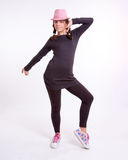 Adolescent de danse Photographie stock libre de droits