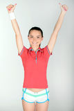 Adolescent de forme physique Photos libres de droits
