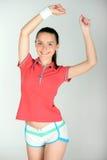 Adolescent de forme physique Photographie stock libre de droits