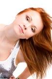 adolescent de roux de verticale de fille image stock