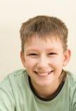 Adolescent de sourire Photo libre de droits