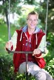 Adolescent de sourire photographie stock libre de droits