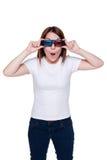 Adolescent en glaces 3d Image stock
