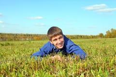Adolescent extérieur Photo stock