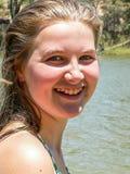 Adolescent féminin Photographie stock