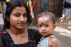 Adolescent Girl in India Stock Image