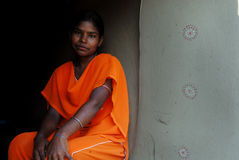 Adolescent Girl in rural India Royalty Free Stock Photo